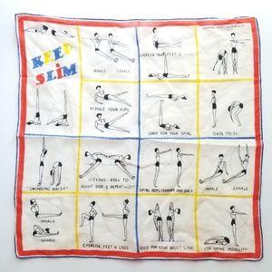 Vintage hankerchief scarf